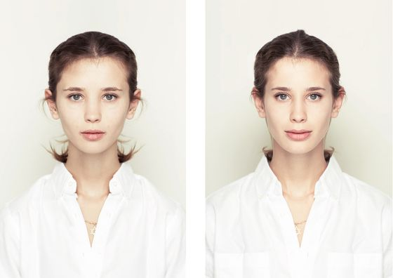 Here's What Faces Would Look Like If They Were Perfectly Symmetrical   TIME