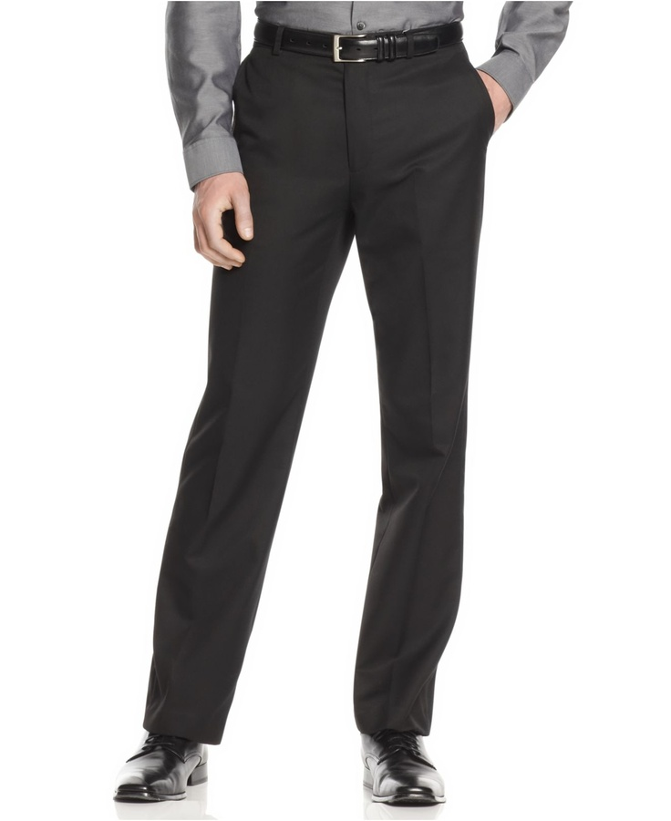 Calvin Klein Pants, Slim Fit Dress Pants - Mens Pants - Macy's