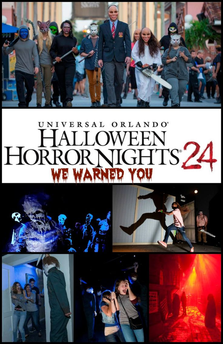 Halloween Horror Nights at Universal Orlando: The Walking Dead, Halloween, The Purge and more! #FacingFearsTogether #HHN24 @UniversalOrl