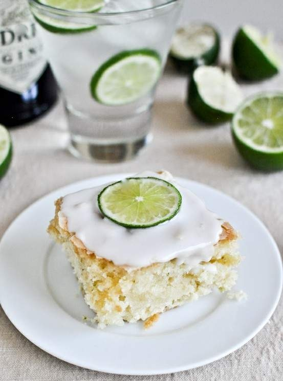 Gin and tonic cake...........sounds perfect to me !