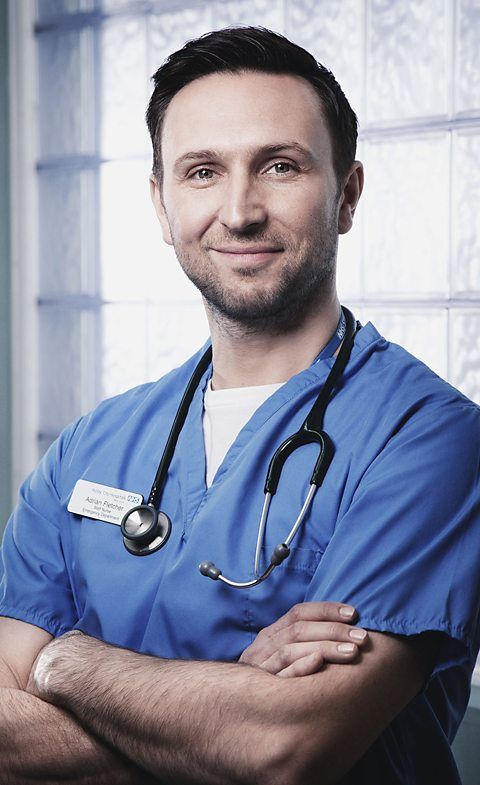 BBC One - Casualty - Fletcher