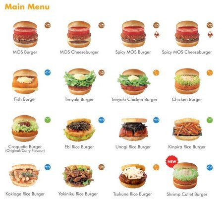MOS Burger -worth a trip to Japan