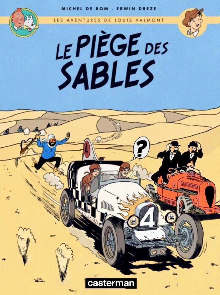 Les Aventures de Tintin - Album Imaginaire - Le Piège des Sables