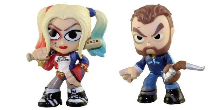Funko Mistery Minis SUICIDE SQUAD Harley Quinn & Boomerang Vinyl Figure 6cm