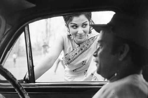 IT'S PG'LICIOUS — Sharmila Tagore and Rabi Ghosh photographed by...