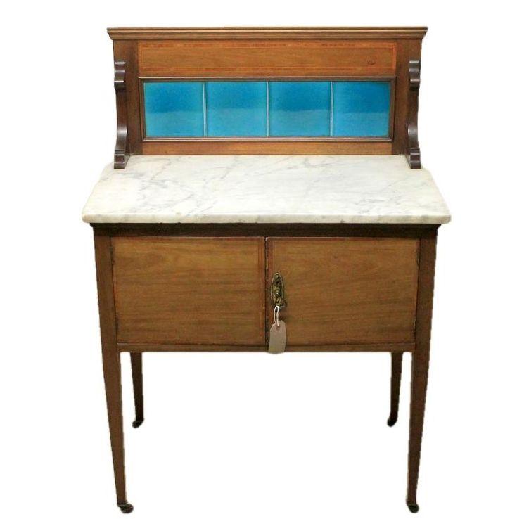 Edwardian Antique Mahogany Wash Stand – Origin Antiques