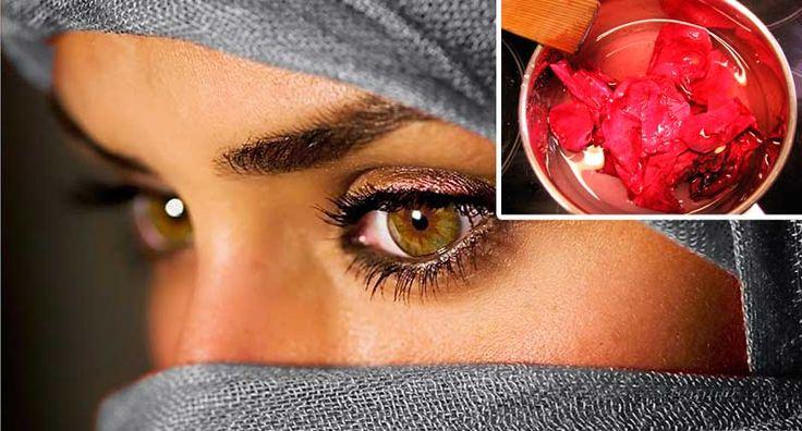 Esta mujer árabe refugiada decidió revelar sus grandes secretos de belleza natural. Tan fácil, porque no lo hice antes!   DePapel7