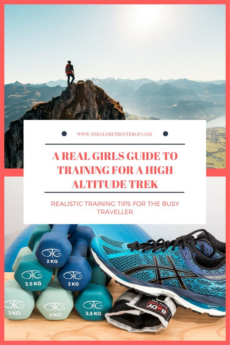 A real girls realistic guide to getting fit for a high altitude trek  when you are super busy! Real tips and suggestions for improving fitness and getting up that mountain!