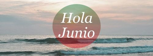 Most popular tags for this image include: junio, portadas para facebook, frases, hola and playa