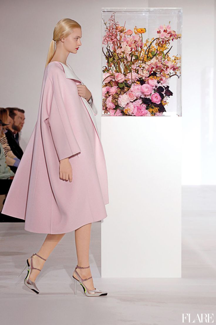Pink, pink, and more pink. Raf Simons for Jil Sander