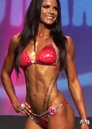 red bikini competition suit - Google Search