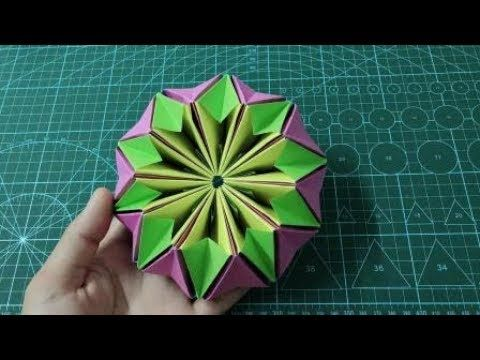 How to make an Origami Kaleidoscope | Easy Origami…