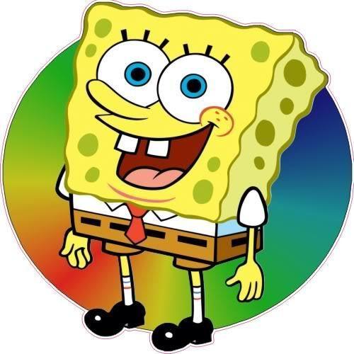 "24"" Sponge Bob SpongeBob Concession Trailer Ice Cream Food Truck Sign Decal   #SolidVisionStudio"