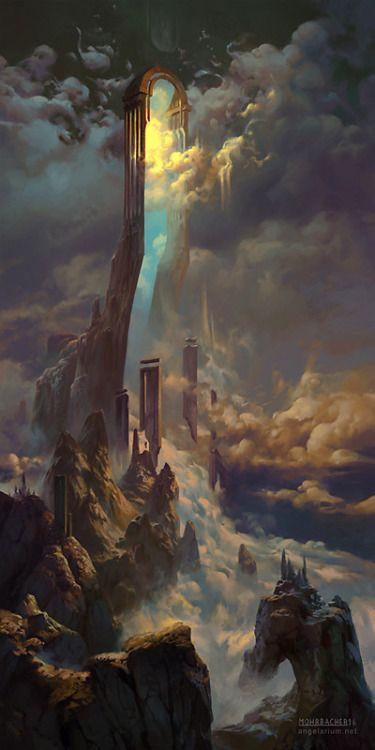 O portão do plano divino