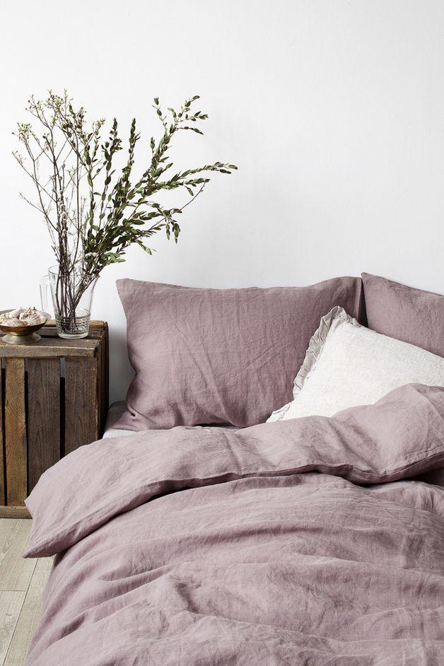 leinen bettw sche selber n hen bettw sche pinterest selber n hen bettwaesche und leinen. Black Bedroom Furniture Sets. Home Design Ideas
