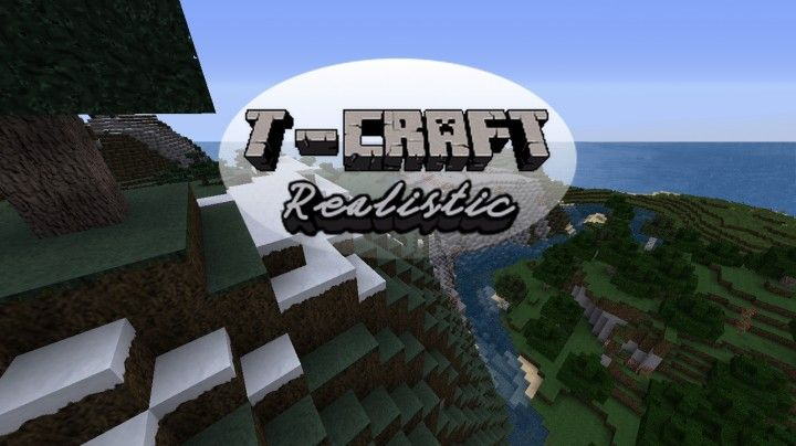 The T-Craft Realistic resource pack is among the longest standing realism focused resource packs out there and, even today, it's one of the best packs of its kind out there. The pack has stood the test of time primarily due to the fact that it has a very unique technique for its texture design and, due to this special technique, the textures look highly realistic and appealing. [  263 more words ]  http://minecraftsix.com/t-craft-realistic-resource-pack/ #minecraft #pcgames