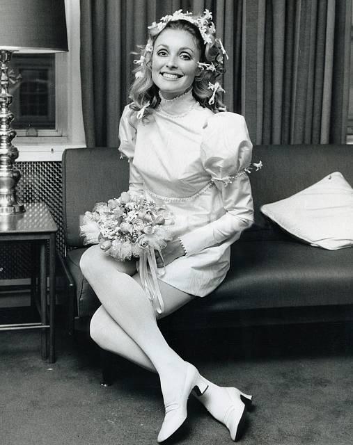 "foreversharontate: "" Sharon Tate on her wedding day, January 20, 1968. """