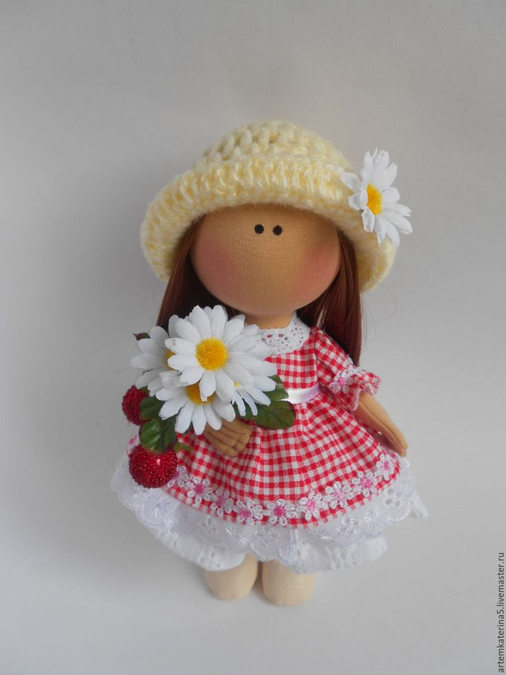 Купить Текстильная кукла-малышка. Ягодка - комбинированный, текстильная кукла, кукла ручной работы