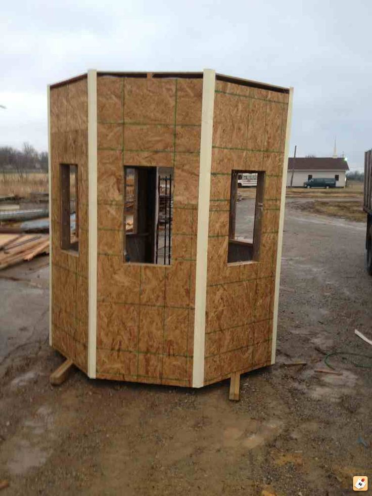 New Deer Blind Page 2 Camper Deer Hunting Blinds