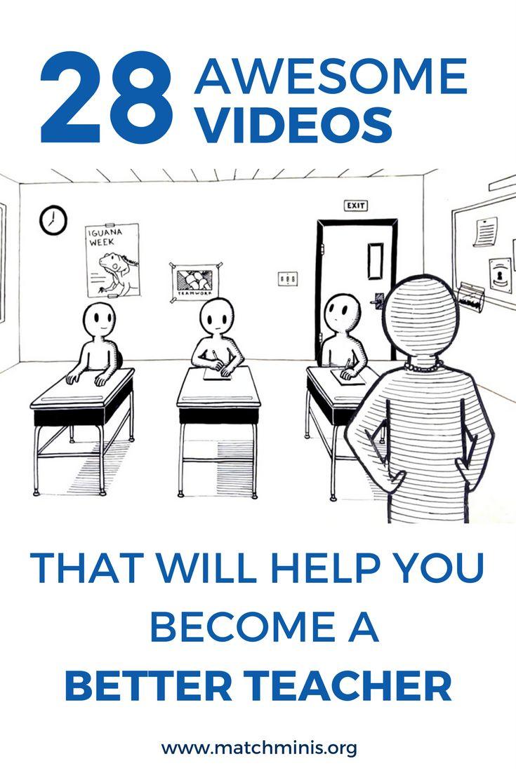 28 videos to help you become a better teacher