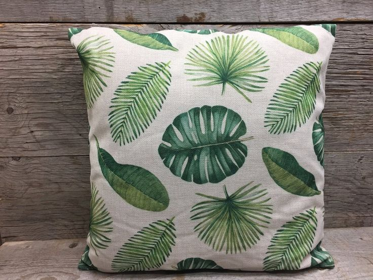 Coussin - Feuilles