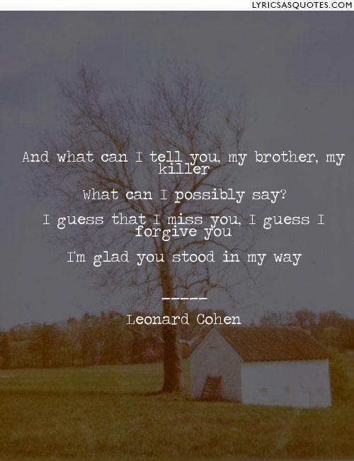 Leonard Cohen, Famous Blue Raincoat