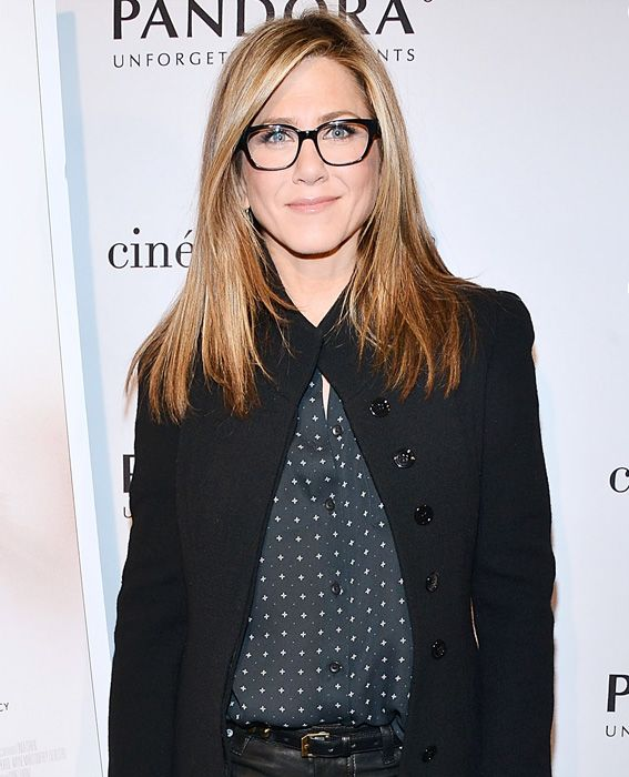 Eye Spy: Celebrities Wearing Stylish Specs - Jennifer Aniston from #InStyle
