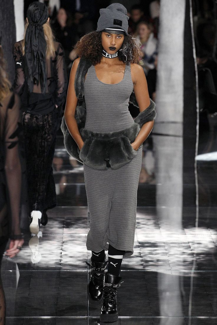 Fenty x Puma Fall 2016 Ready-to-Wear Fashion Show - Imaan Hammam