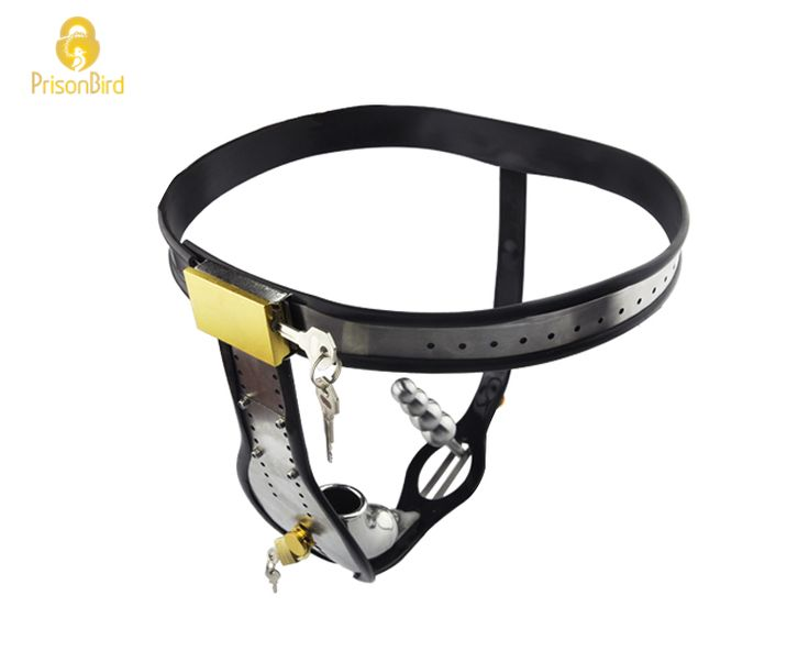 Prison Bird Factory Amazing Price Stainless Steel Male Underwear Chastity Belt For Party Sex toys A182-1 //Price: $80.48 & FREE Shipping //     #HALOWEEN