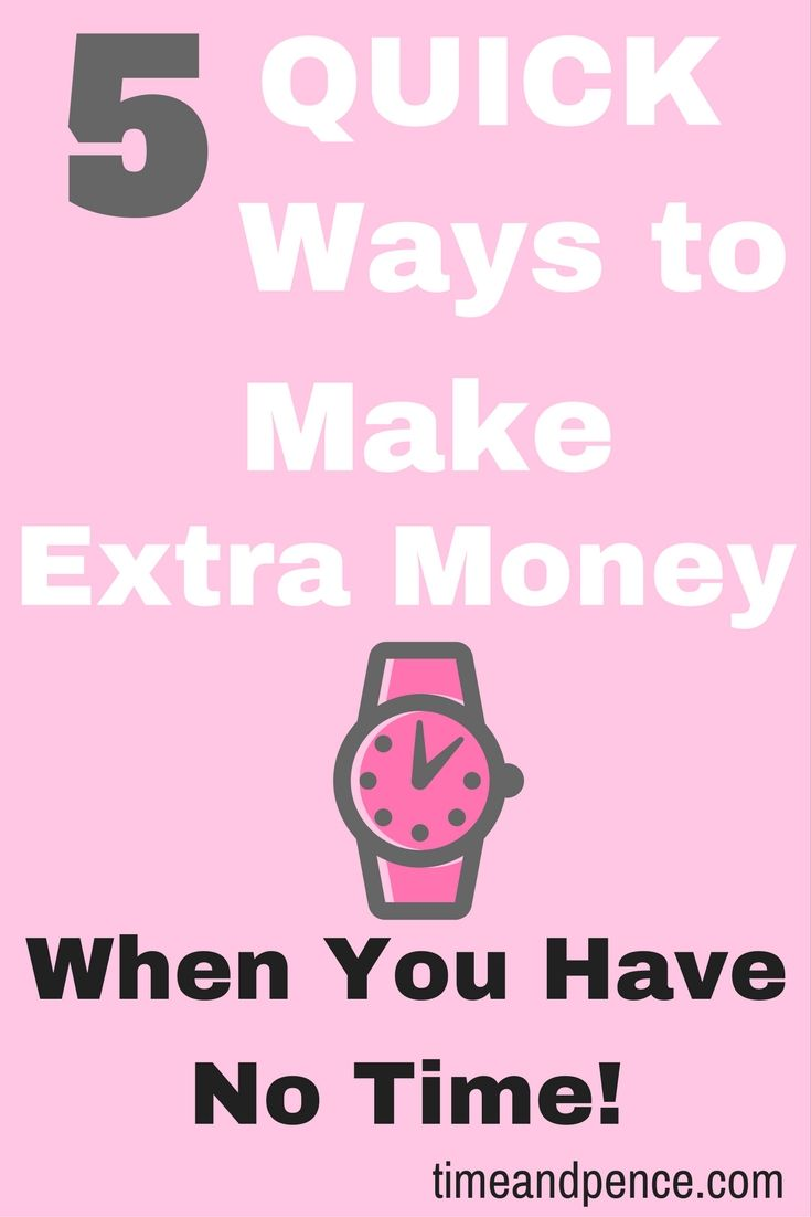How to earn extra money fast uk