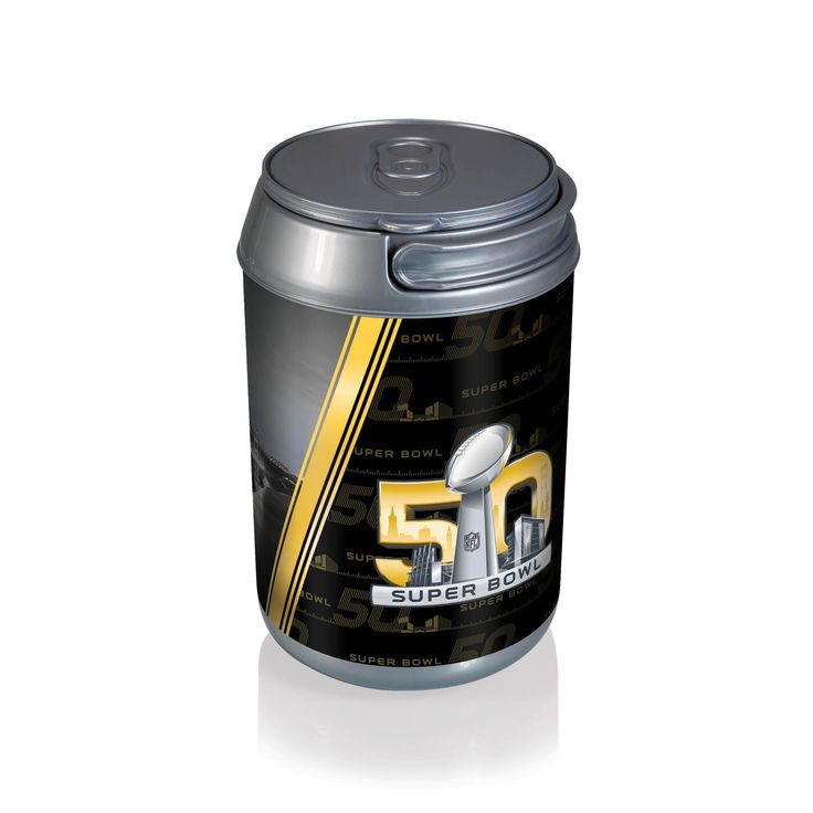 Super Bowl 50 Mini Can Cooler by Picnic Time