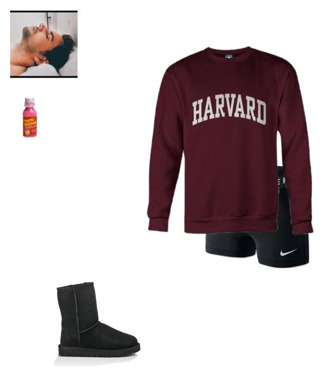 """Sick day with Ryan"" by skillerxdivas on Polyvore featuring NIKE and UGG Australia"