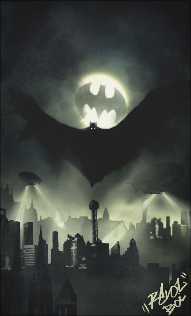 Batman by Dillon Lamando                                                                                                                                                                                 More