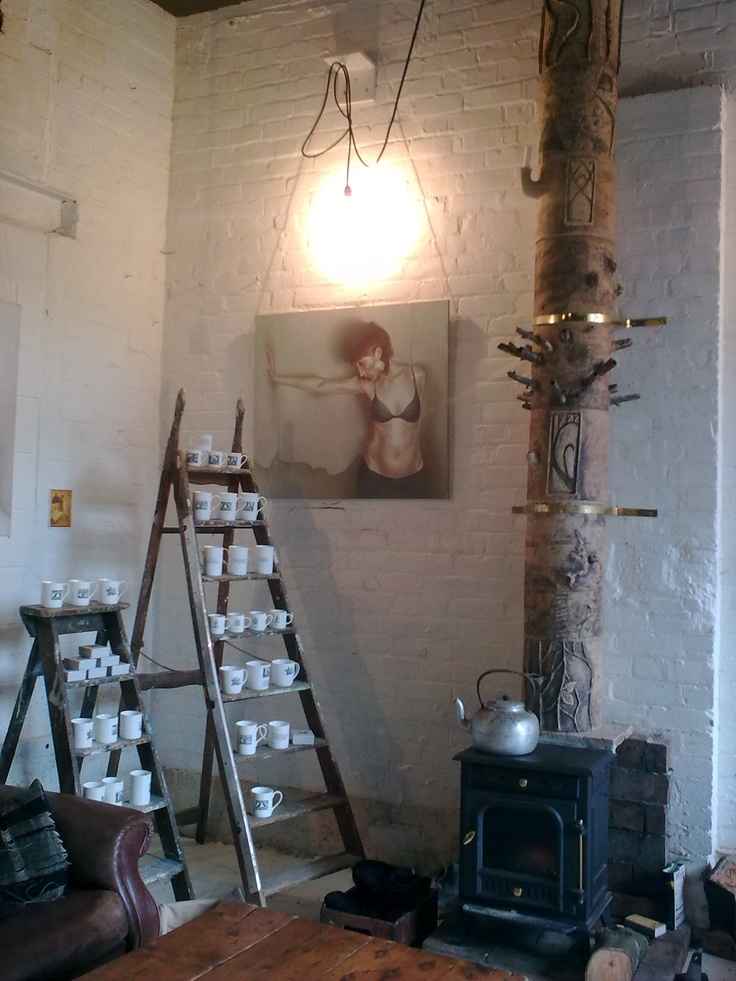 Handmade ceramic chimney by Liz Scrine (and co). Photograph by Beverley Gee.