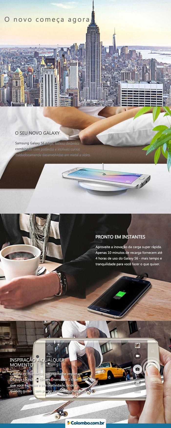 Notebook samsung lojas colombo - O Futuro Agora Na Lojas Colombo Com O Novo Samsung Galaxy S6 Voc Tem