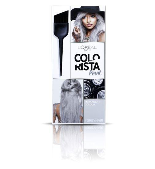 Hair Colour Colorista Paint Grey Hair Permanent