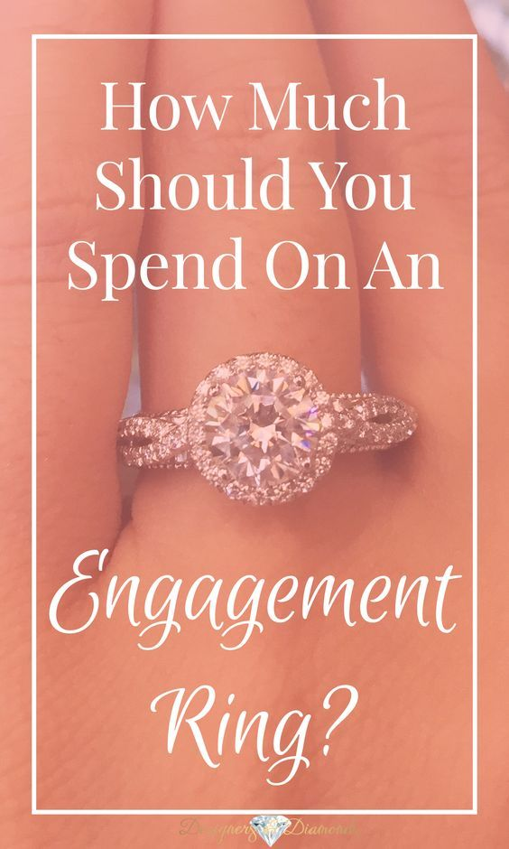 How much should you spend on an engagement ring more for How much should i spend on a wedding ring