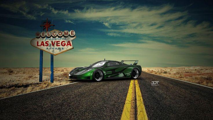 Dominiq car model Concept art