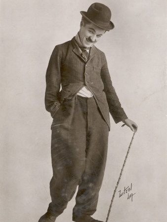 """I love Charles Chaplin because of his multi-talented gifts.  He wrote my favorite song, """"Smile""""."""
