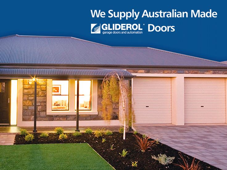 Designed and manufactured in Australia, Gliderol garage doors are specially made for Australian conditions from durable Colorbond steel. Plus - every Gliderol door is made to your individual wants and needs at no additional cost!