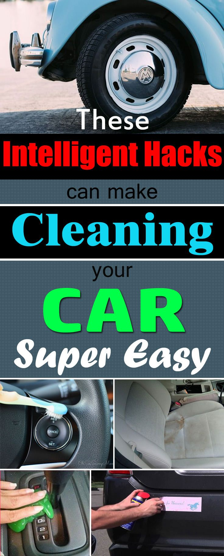 21 intelligent car cleaning hacks you can t risk missing