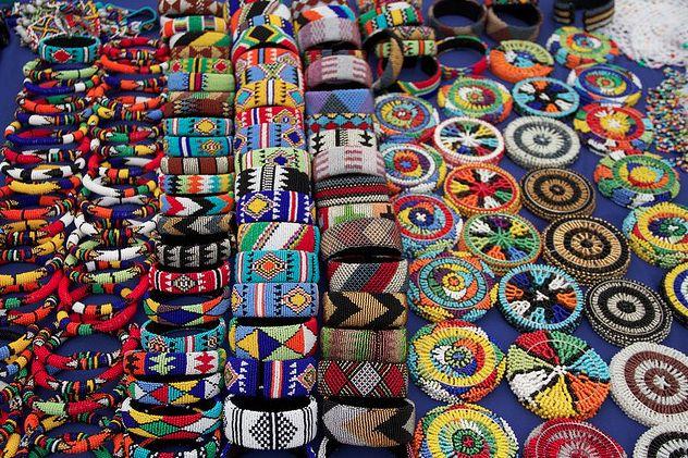 zulu beadwork. south africa.