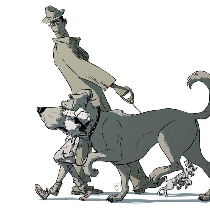 Day 72: Superiority  #mittroshin #illustration #characterdesign #animal #dog #pets