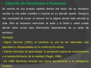 Normas APA - Trabajos Escritos