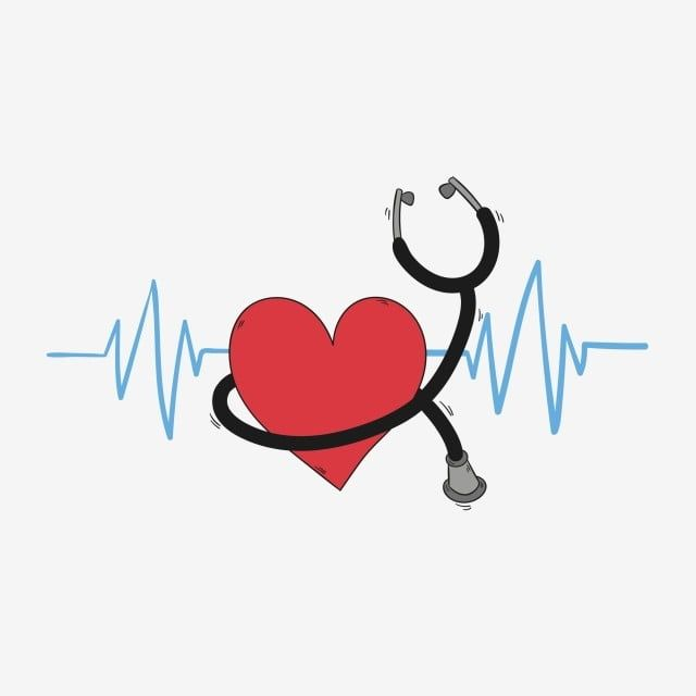 Love Love Stethoscope Stethoscope Red Red Love Heartbeat Blue Heartbeat Png And Vector With Transparent Background For Free Download Stethoscope Drawing Nurse Drawing Heart Hands Drawing
