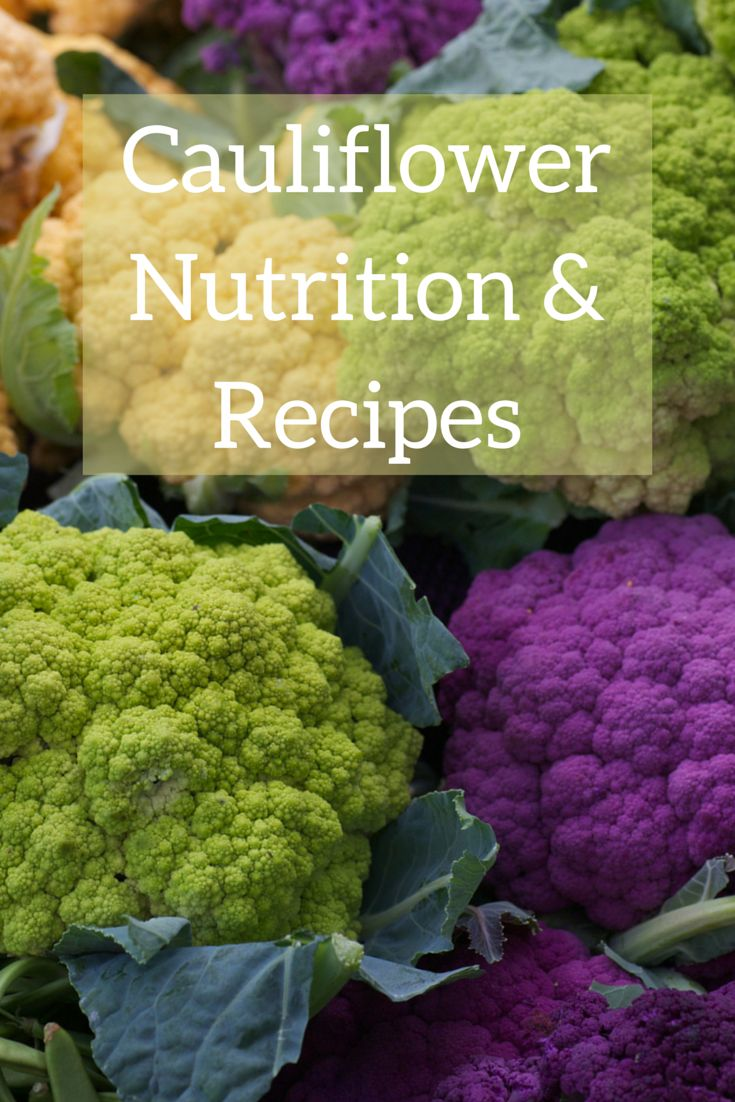 Cauliflower nutritional facts, cauliflower recipes & healthy benefits. How to select the best, fresh cauliflower ear. How to cook, steam, &…