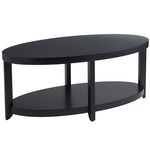 Meyers Coffee Table - BlackCoffee Tables, Living Rooms, Meyers Coffee, Apartments Ideas, Decor Projects, Black Pier, Bookcas Room, Diy Decor, Blackpier