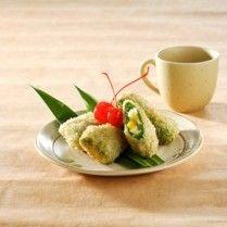 risoles pandan vla jagung nangka
