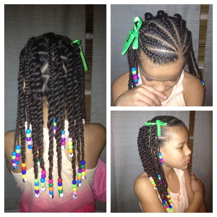 african american kid braids with beads | GIRL HAIRSTYLES / BRAIDS / PROTECTIVE HAIRSTYLE / HAIRSTYLES / KIDS ...