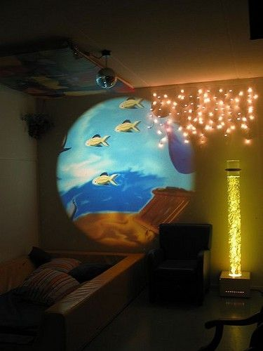 Sensory Rooms Lights And Slide Show On Pinterest